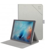 "TUCANO Minerale - Etui iPad Pro 10.5"" (2017) w/Magnet & Stand up (Silver)"