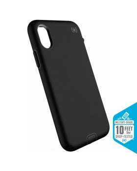 Speck Presidio Sport - Etui iPhone X (Black/Gunmetal Grey)